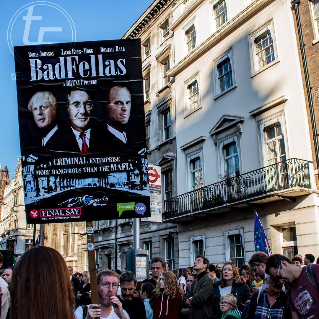 2018 People's Vote March - Badfellas