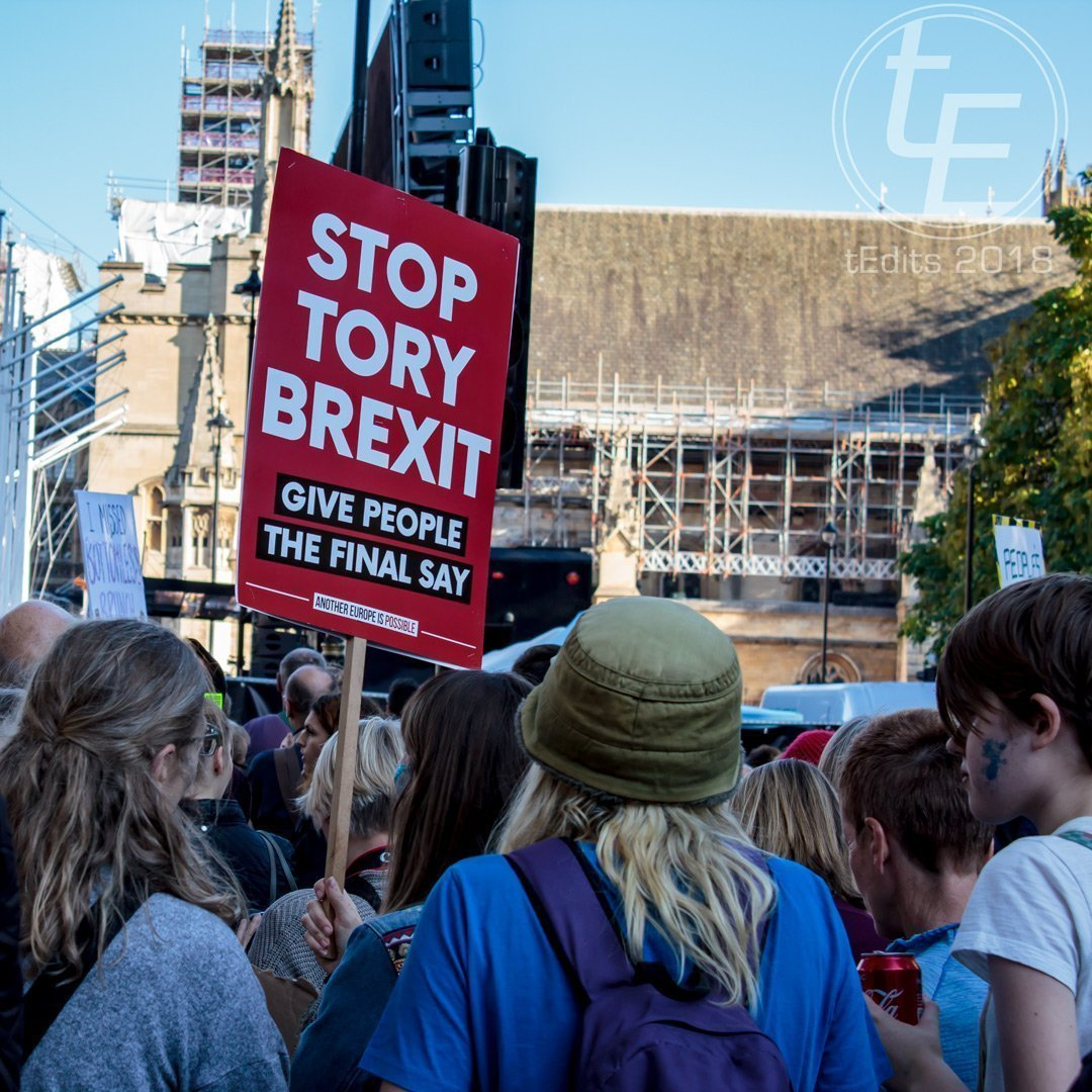 2018 People's Vote March - Stop Tory Brexit