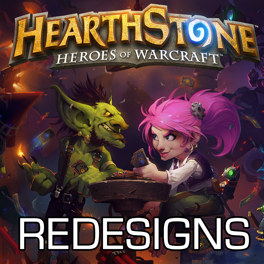 Hearthstone Custom Redesigns