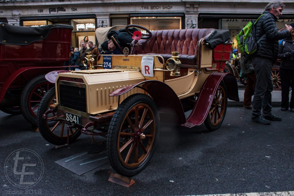 1904 Humberette - Regent Street Motor Show 2019