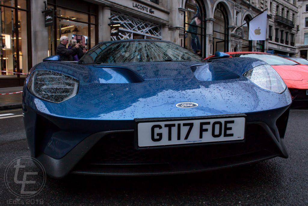 Ford GT40 (Nose) - Regent Street Motor Show 2019