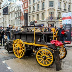 Regent Street Motor Show 2017 - 1896 Salvesen Steam Cart