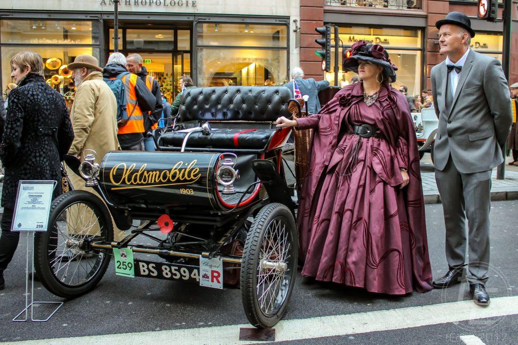 Regent Street Motor Show 2017 - 1903 Oldsmobile