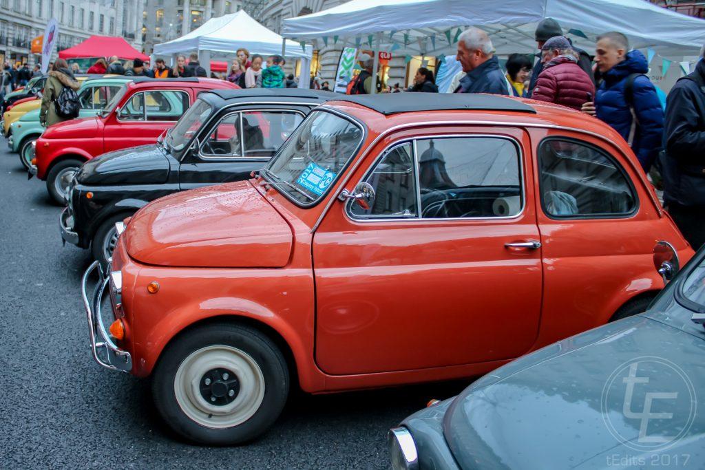 Regent Street Motor Show 2017 - Classic Minis