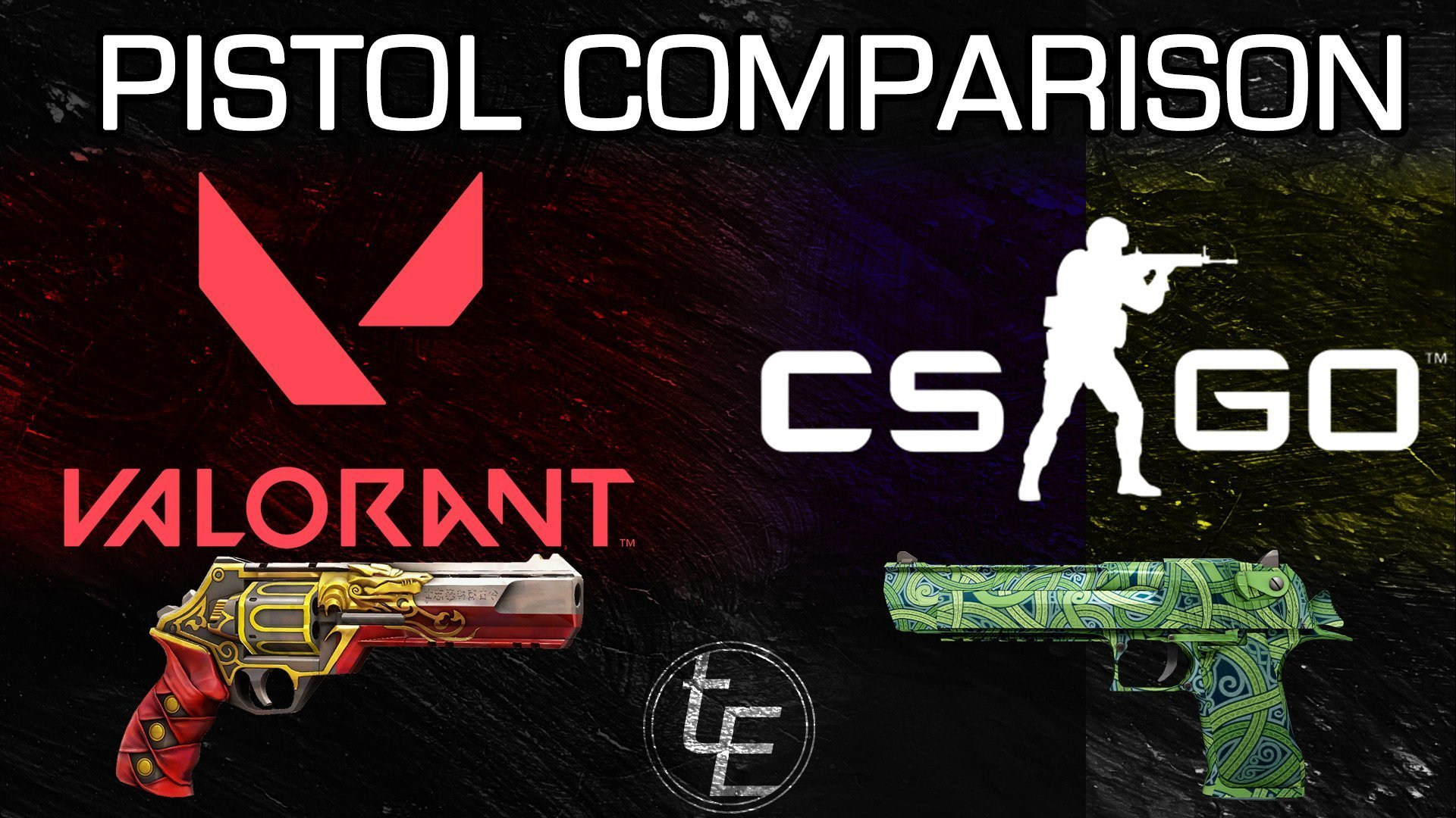 Valorant vs CS:GO | Pistol Comparison