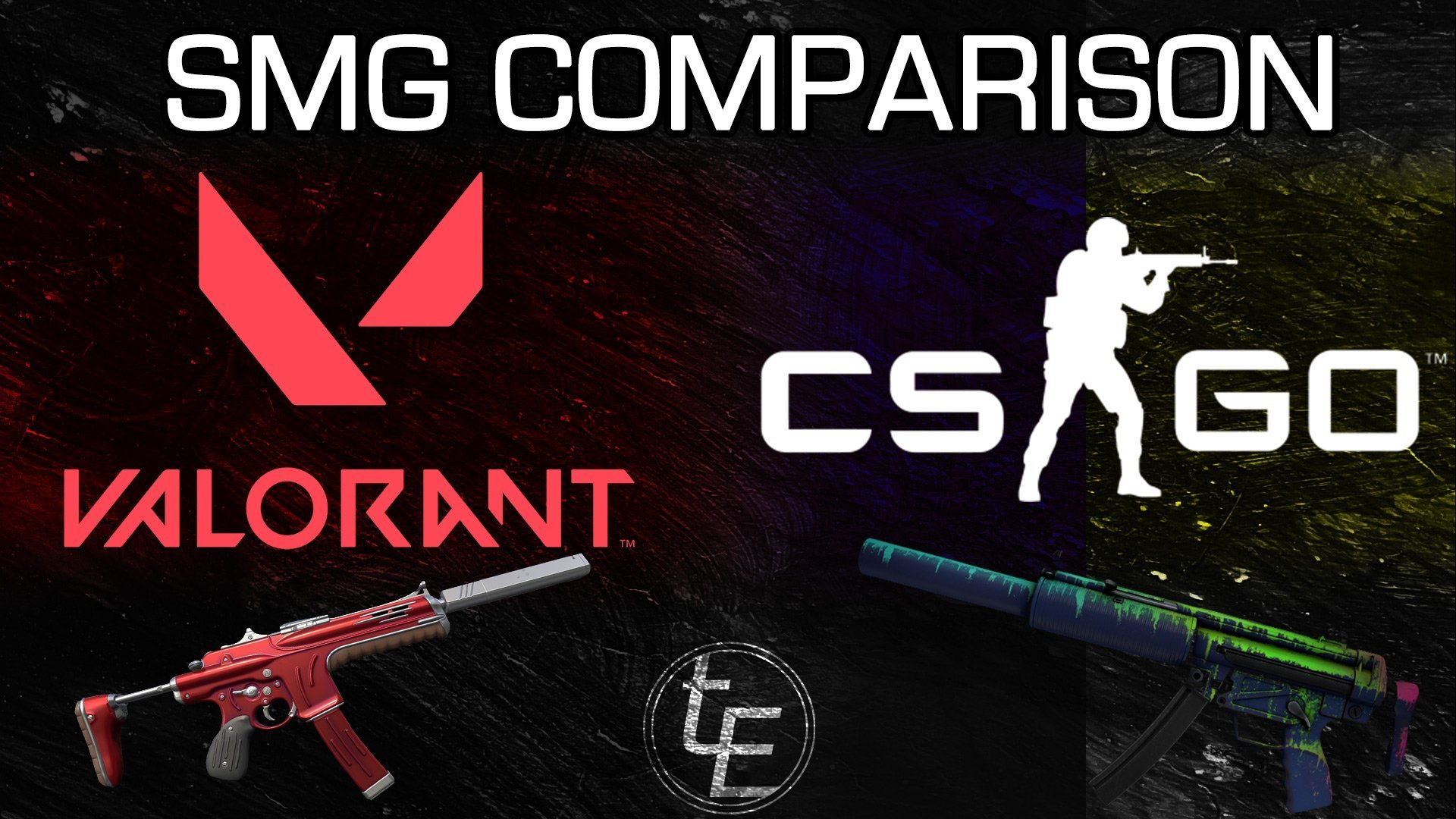 Valorant vs CS:GO | SMG Comparison