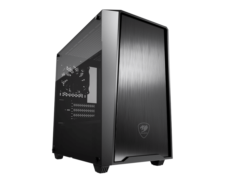 Cougar MG130-G Compact Micro-ATX Gaming Case with Glass Side Window
