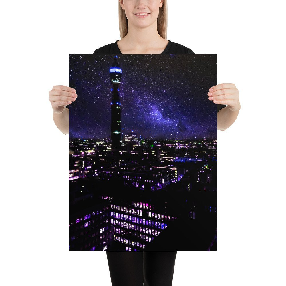 The BT Tower | Neon London | Poster