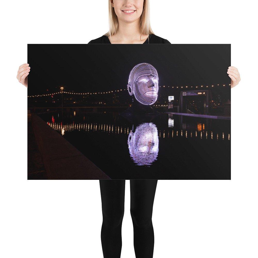 Talking Heads 12 | Battersea Power Station Light Festival | Poster