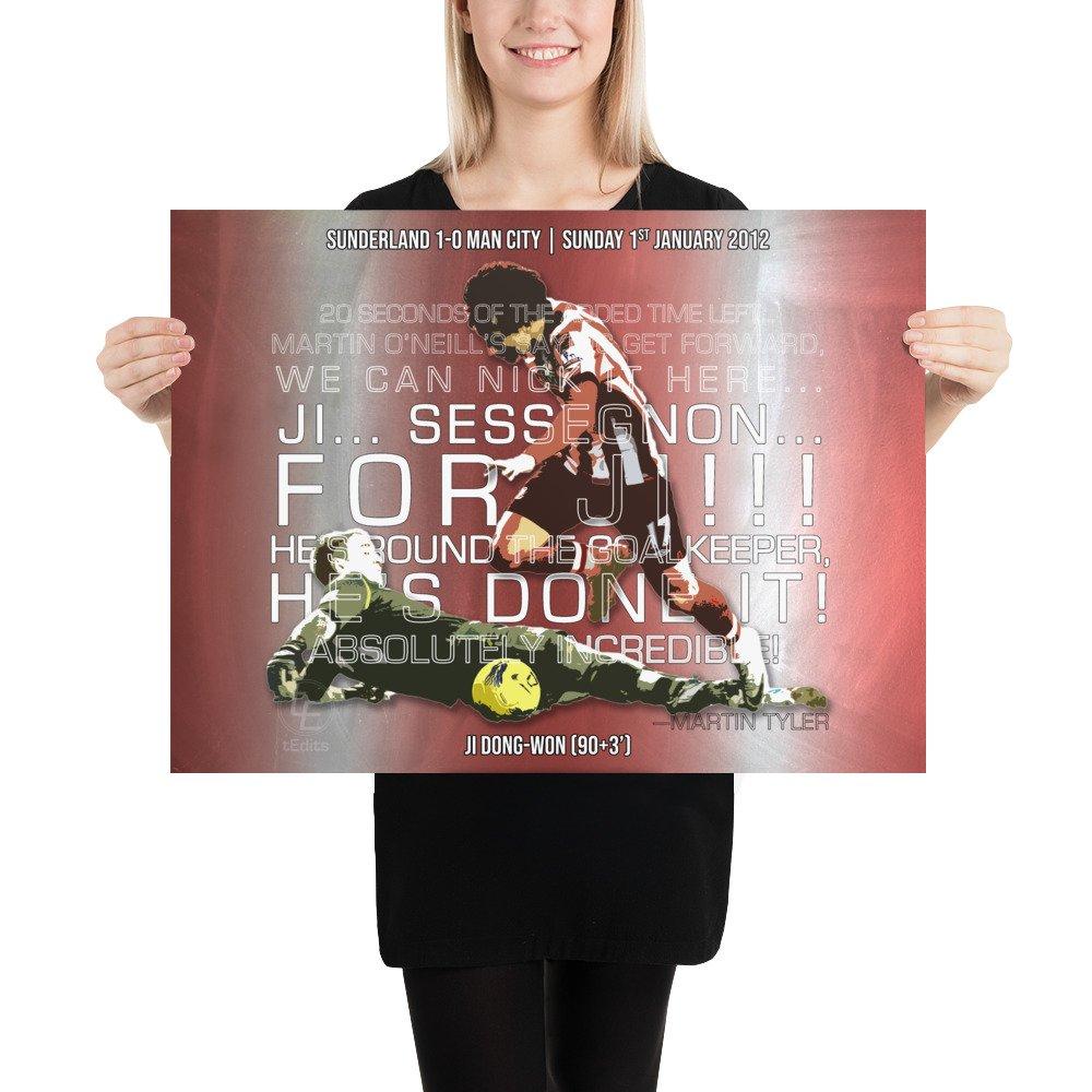 Ji Dong-Won vs Man City, 2012   Poster
