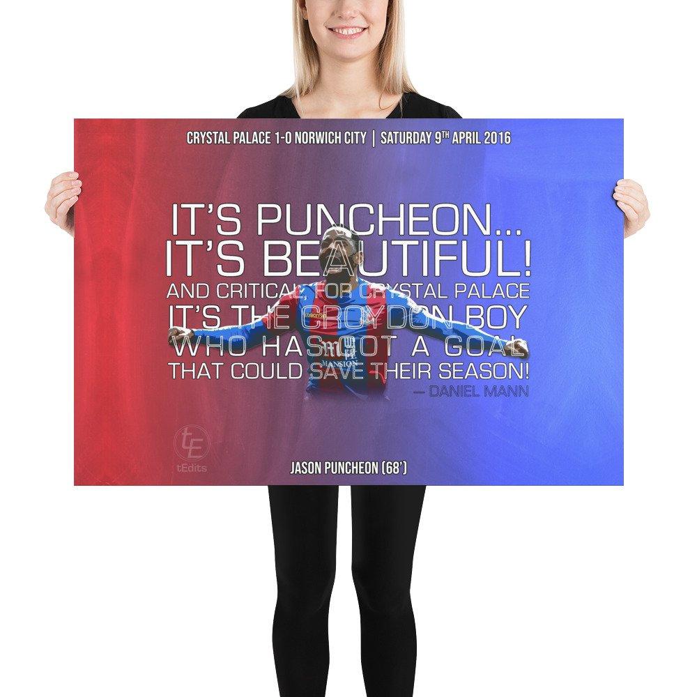 Jason Puncheon vs Norwich, 2016 | Poster