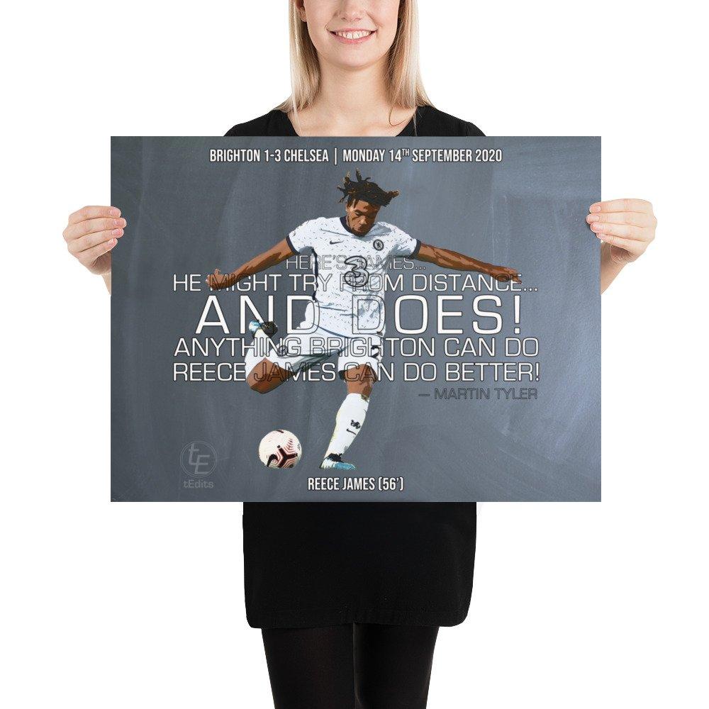 Reece James vs Brighton, 2020 | Poster