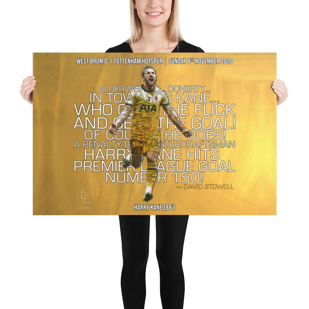 Harry Kane vs West Brom, 2020 | Poster