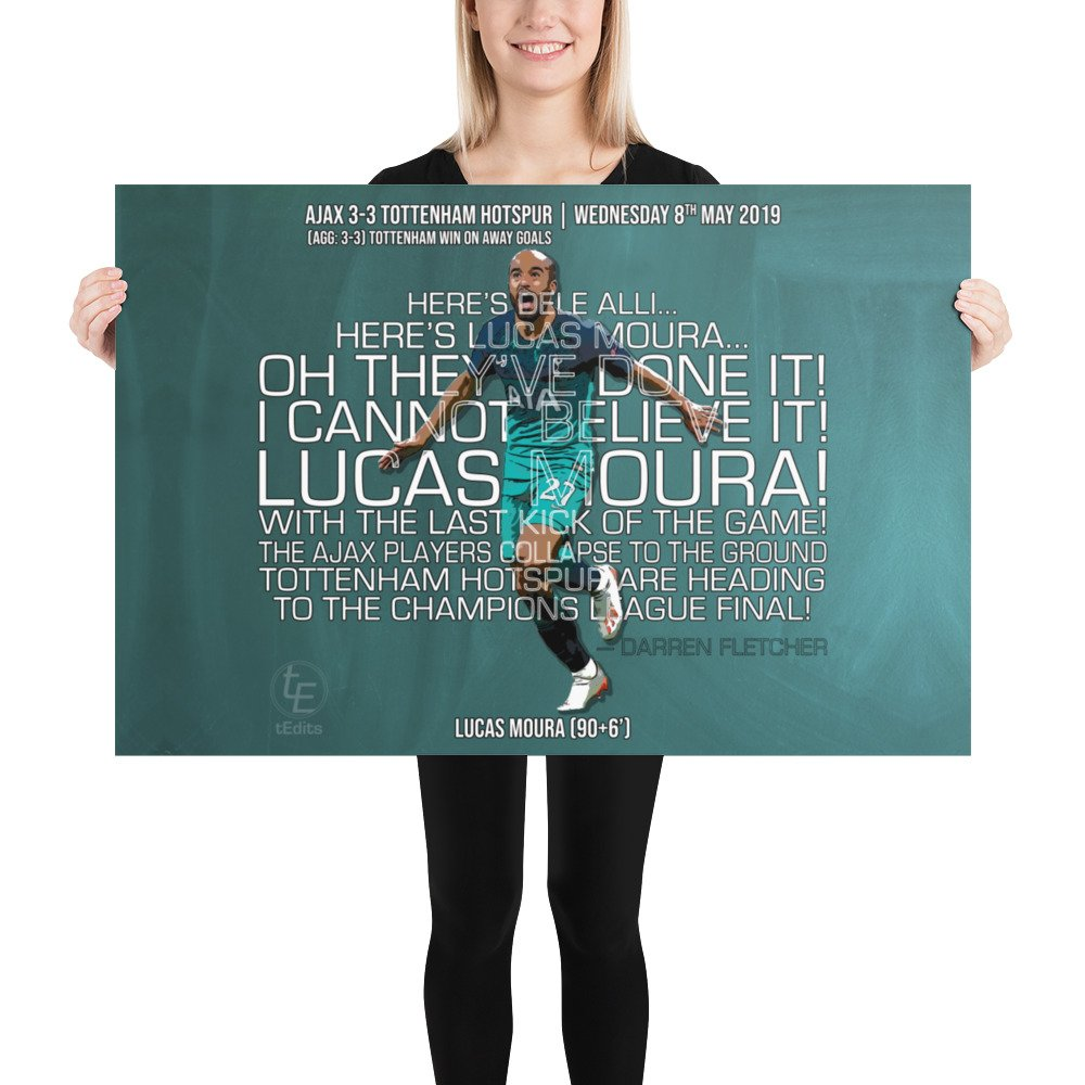 Lucas Moura vs Ajax, 2019   Poster