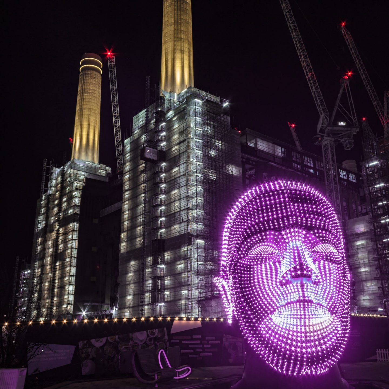 Battersea Power Station Light Festival - Talking Heads 9