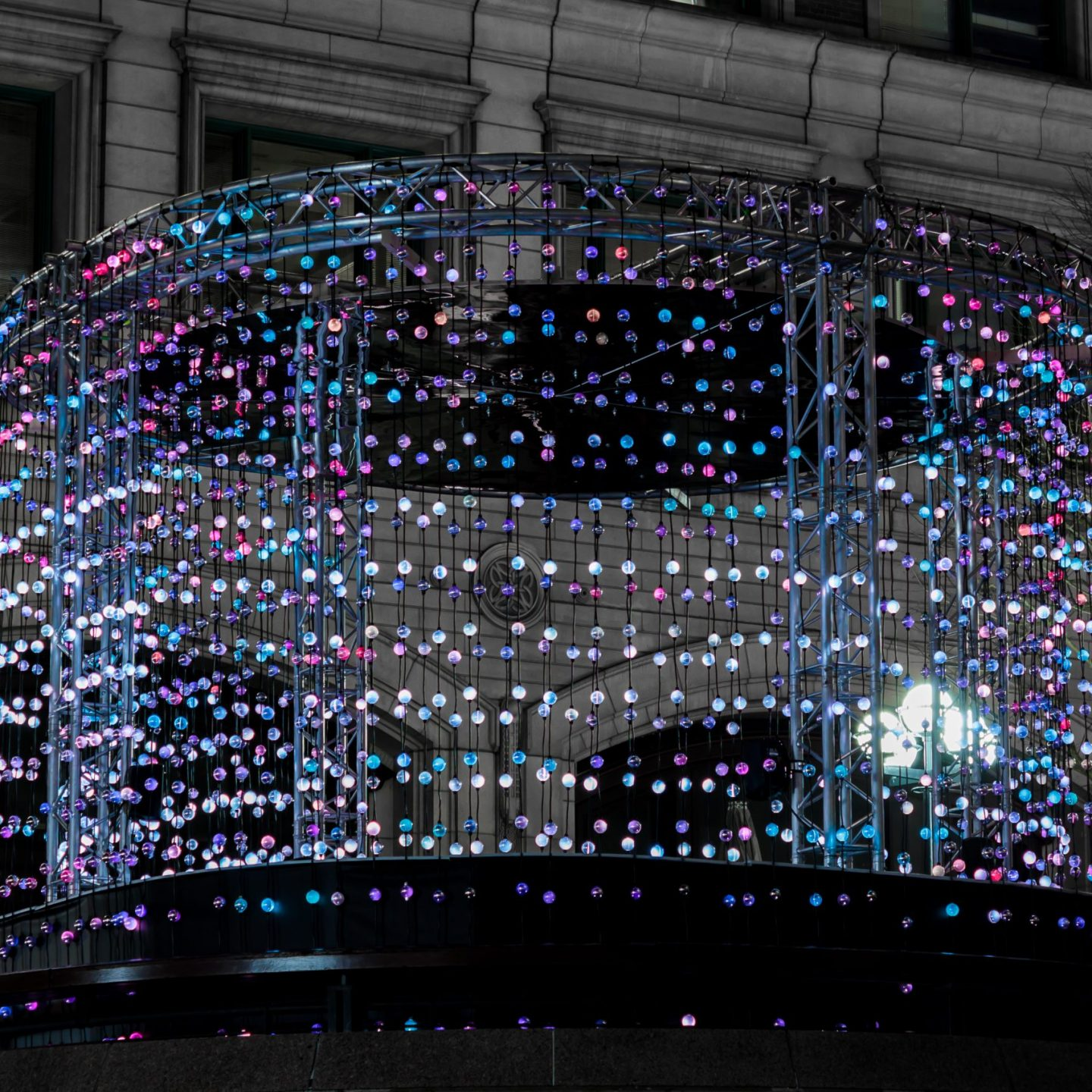 Canary Wharf Winter Lights 2020 - Ditto by Ithaca